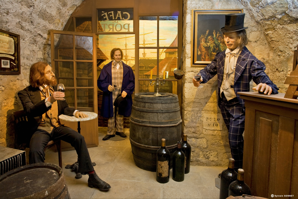 une scène du musée du vin
