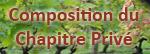 Composition du Chapitre Privé