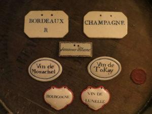 Plaques à pièces ou à barriques, fin XVIIIe, début XIXe siècle