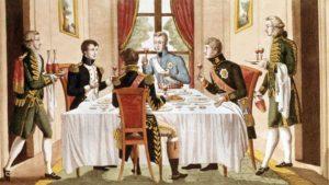 Un souper chez Napoléon